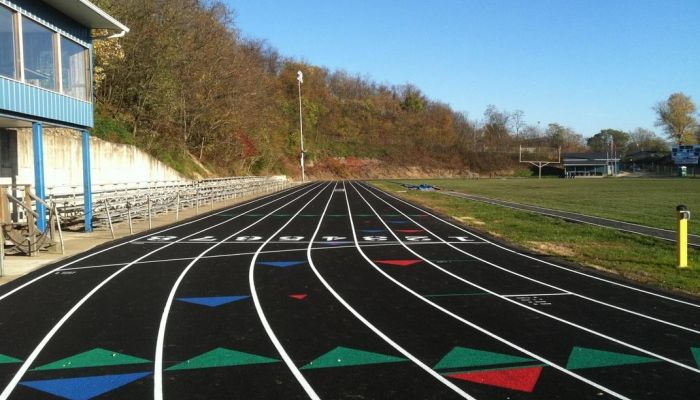 Athletic Track Construction and Paving